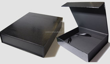 Magnetic closure Cardboard Box with flip top cover