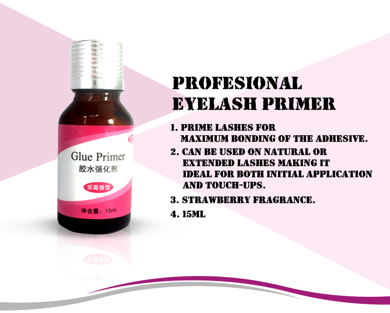 strawberry frangrance glue primer adhesive glue eyelash glue