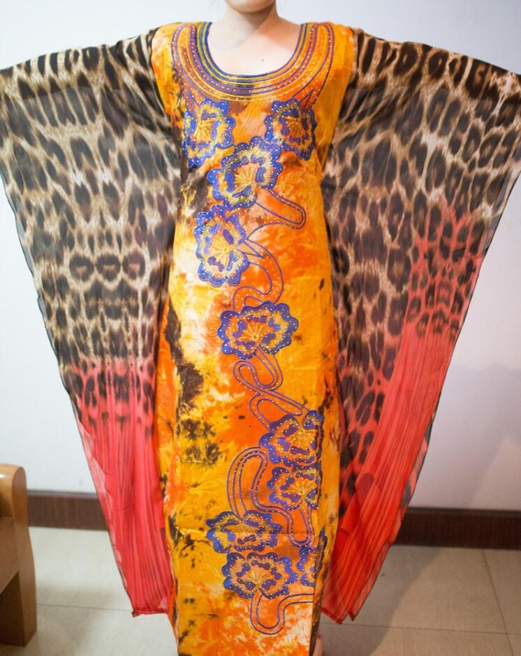 X-large dress african new bazin riche lady dress