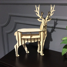 Chinese custom modern beautiful musk deer shape table for sale