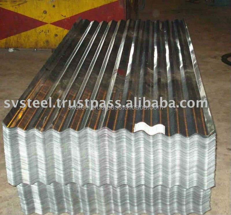 Galvanized Corrugated Steel Sheet For Building Material