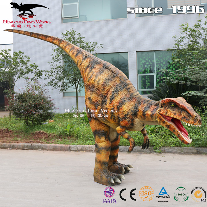 High quality life-size mechanical dinosaur costume for sale
