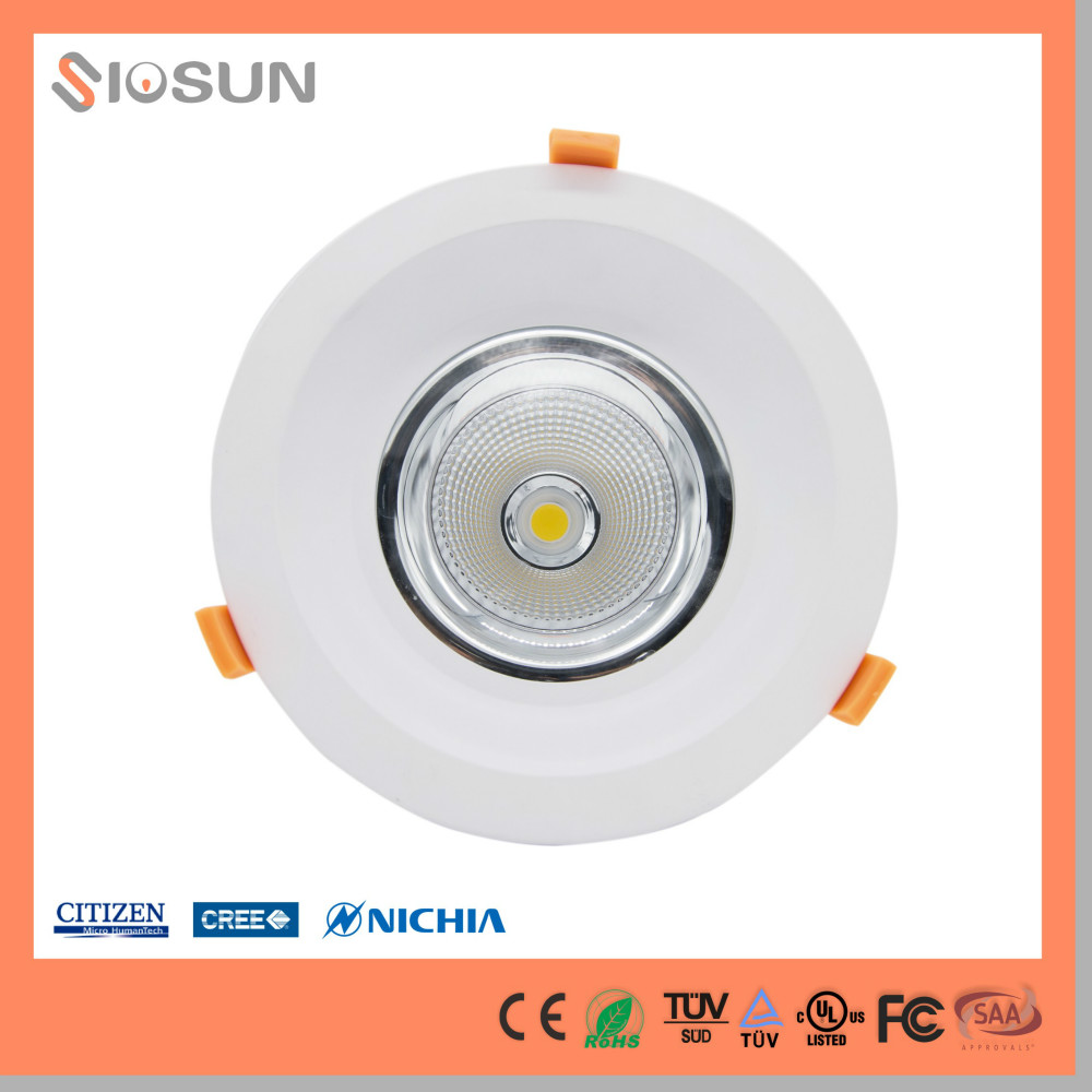 China Supplier UL CE DLC FCC Listed 40W 50W Recessed Led Down Light Warm White/Cool White