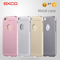 Hot sale product EXCO new arrival Trendy rose gold 6s metal aluminum case for iPhone 6s and iPhone 6s plus