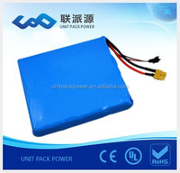 16S1P Samsun g cell 60v 2200mah Electric Unicycle lithium battery