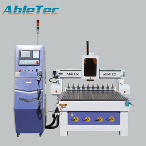 High precision ATC wood engraving cnc router machine ATC 4 bits auto change function ABM1325C