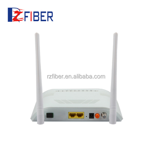 New products Dual mode GEPON/GPON ONU 1ge+1fe+1pots+wifi wifi modemwireless router
