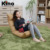 Modern adjustable sofa chair leisure legless single chair sofa furniture