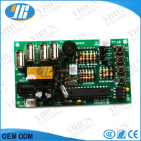 JY-18A coin operated USB time control Timer Board Power Supply for coin acceptor selector device