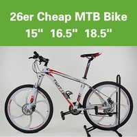 26 Inch bicycle mountain bike MTB bicycle with suspension