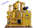 Double Stage vacuum oil purification machine ZYD-50 3000 liters per hour