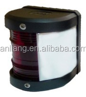 IP56 Waterproof 110V Single-side Red 112.5 Angle 20W/40W 6nm Visibility marine deck led marine navigation light