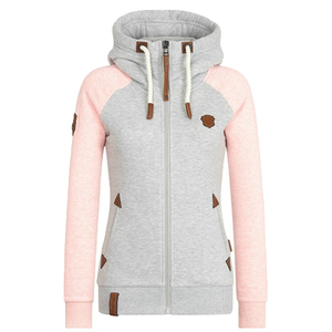 Fashion Women Hoodies Sweatshirt 2018 Autumn Long Sleeve Sweatshirts Women Tracksuits Zipper Hoodie