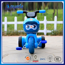 2017 new child tricycle for kids exercising pedal car / child sport tricycle 3 wheels / simple and lovely child tricycle