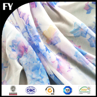 Factory custom digital printed 95 polyester 5 spandex fabric