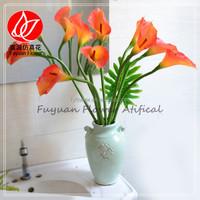 141210 Factory making cheap artificial mini flowers calla lillies
