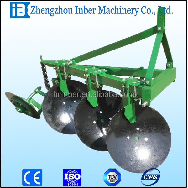 3 disc plough /best disc plough for sale/disc plough for walking tractor