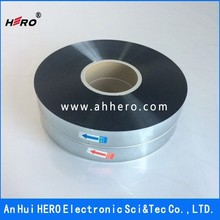 HERO capacitor film for type M-PP/S-PP MPET Film Aluminum and zinc metallized BOPP film for capacitor use