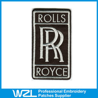 Wholesale customized Embroidered patch for motorcycle jacket
