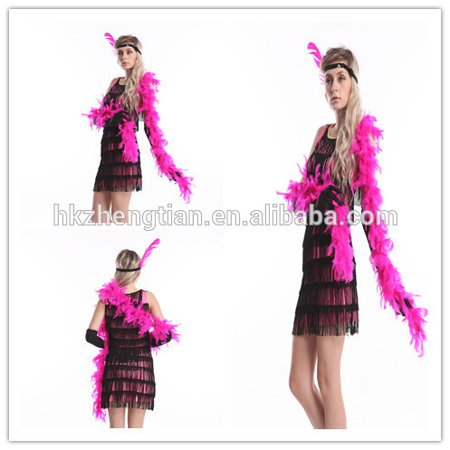 S-2XL Plus size halloween gatsby dress