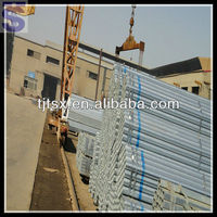 BS 1387 pregalvanized solid bicycle steel pipes