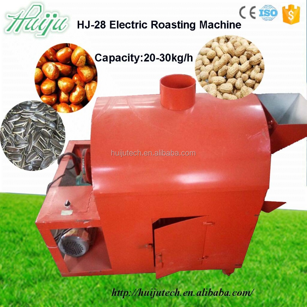high quality & effctive Roasted Cashew Small Nut Chocolate Processing Machine Good Price Corn Roasting Machine HJ-28