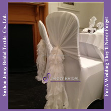 C006P hanging chair cover cheap wholesale fabric hotel chair cover