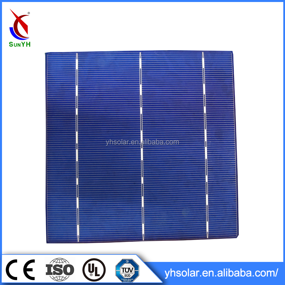 Wholesale China Solar Cell Price , 156mm Poly Solar Cell 4.3W