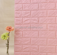 Newest 70*77cm XPE Foam 3D Wallpaper DIY Wall Decor Brick Wall Stickers