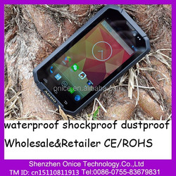MTK6572 5.0 Inch 4 core rugged phone android 4.2 &ip68 waterproof phone