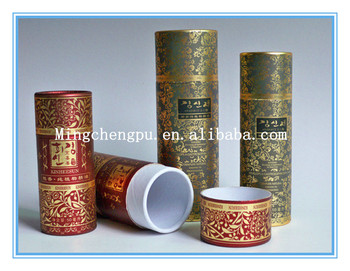 2016 New Round Paper Tube With LOGO Printing