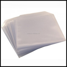 CD DVD DISC CLEAR COVER CASES PLASTIC 100 MICRON SLEEVE WALLET