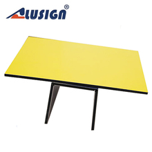 Alusign aluminium composited panel outdoor ping pong tables acp panel table lamp