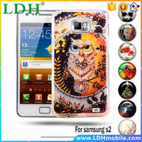 Painted Soft TPU Phone Case Cover For Samsung Galaxy SII GT-I9100 S2 I9100 Skin Shell Bags For Samsung S2 I9100 Rubber Fundas