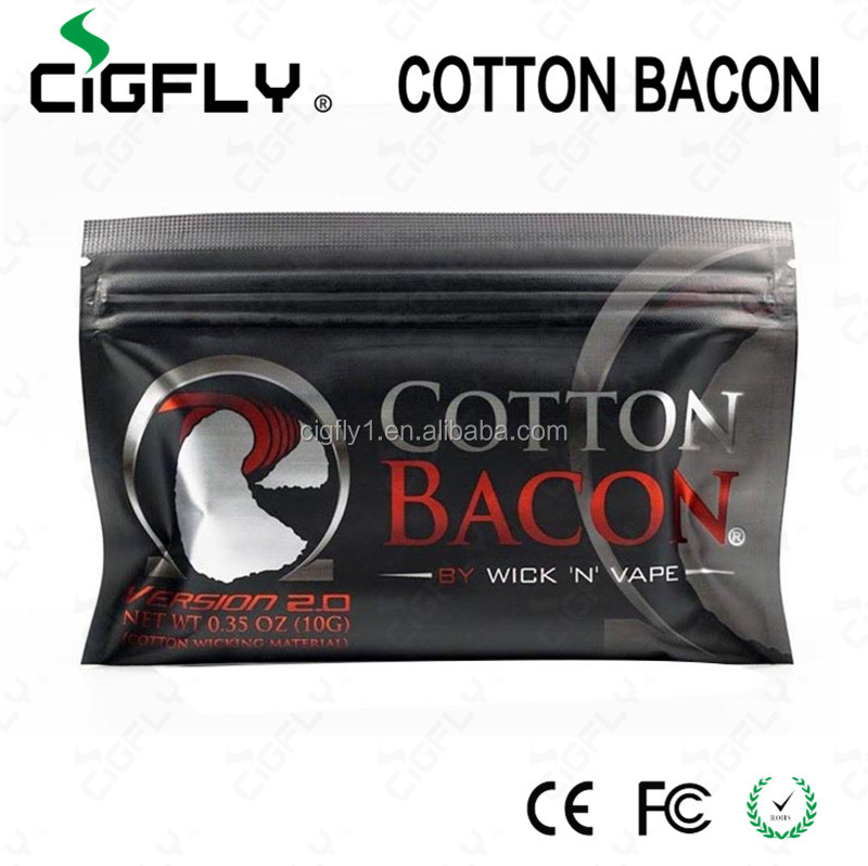 Newest authentic cotton bacon hot selling in Thailand from Cigfly pk kendo vapes cotton