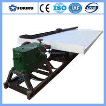 low price coltan separating equipment coltan shaking table