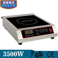 Professional Commercial Induction Cooktop Manufacturer 3500W