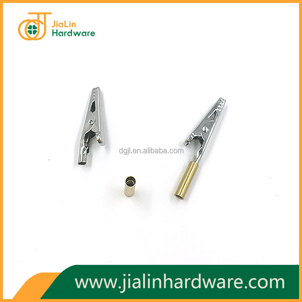 Circuit board holders alligator clips with M3 threads barrels factory in China