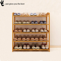 2017 Hot Sale big size 50 or 100 pairs shoe rack wholesale for one family