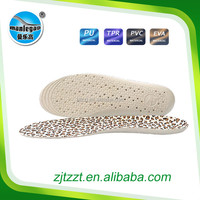 new design PVC insole for sport shoes Soft EVA Orthotics Insoles for Sports and Fashion Shoes PVC- 8806