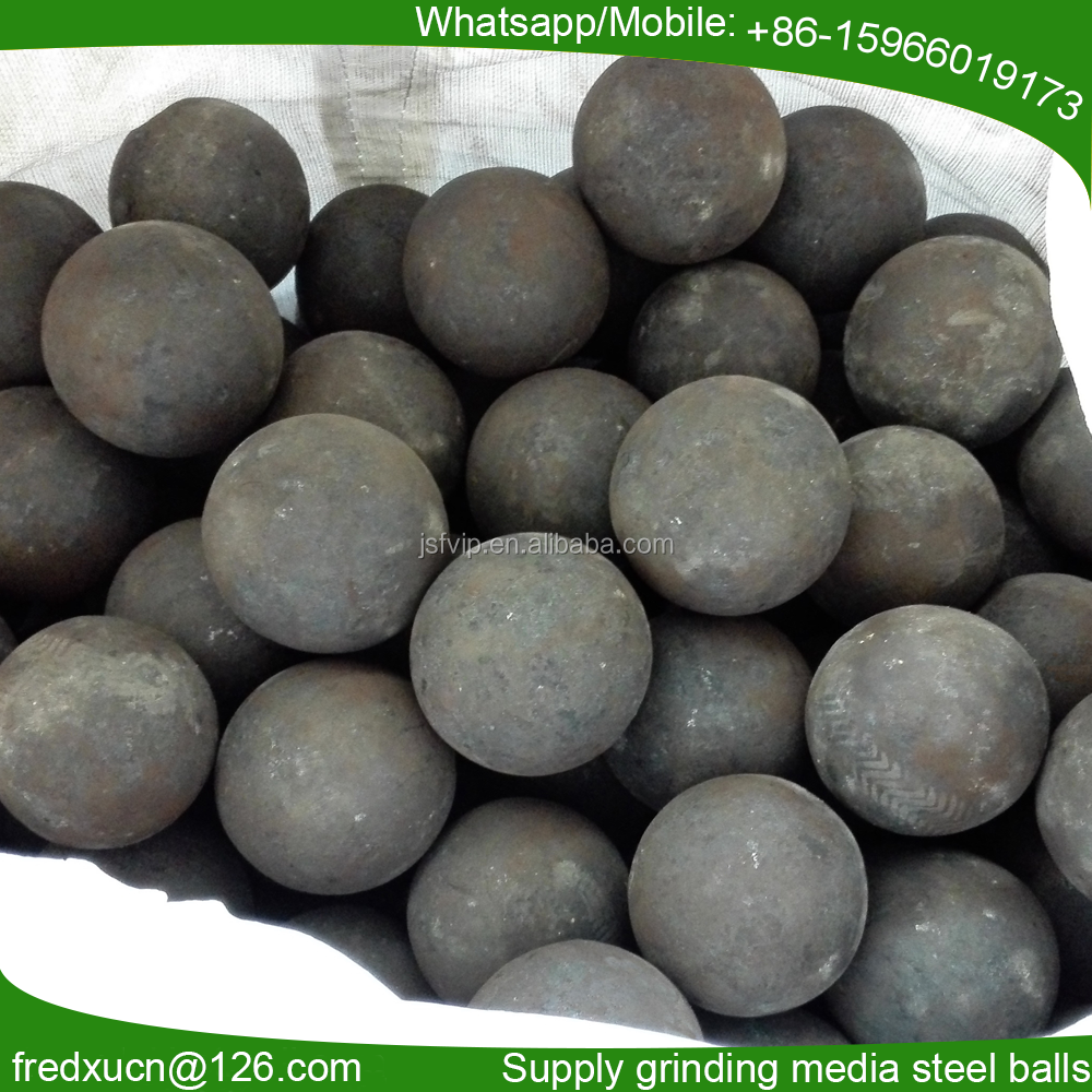 Factory price grinding media forged steel balls for ball mill grinding