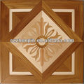 maple and teak wood art parquet flooring
