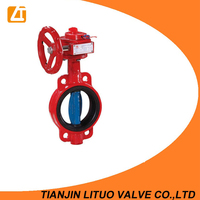 casting Fire Protection Butterfly Valve at low Price