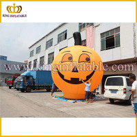 Factory made giant halloween inflatables, inflatable pumpkin model for hot selling