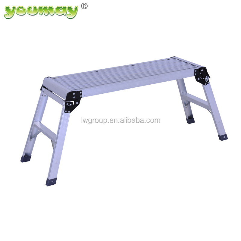 Aluminum Working Platform Wide Step With Different Color AW0103A
