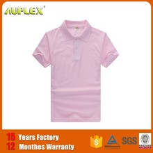 Smart Short-sleeve heat press plain color fake polo men shirt