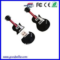 Guitar USB Flash Drive Shape USB Stick 2.0 Customize Design