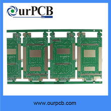 ROHS gold finger electronics printed circuit board factory