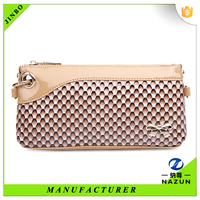 Autumn winter good ladies beige purses bulk customized wallet