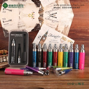 custom vaporizer pen GS EgoII Mega Kit new vape vapor cigarette wholesale